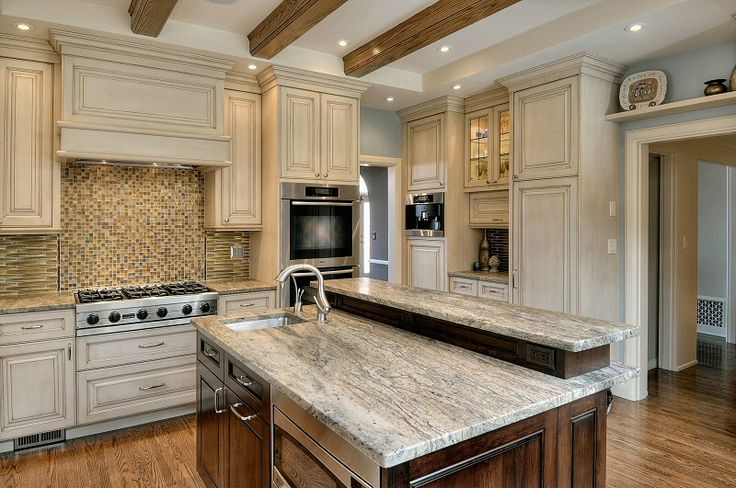 Mixed Cabinet Colors In A Kitchen Authentic Home And