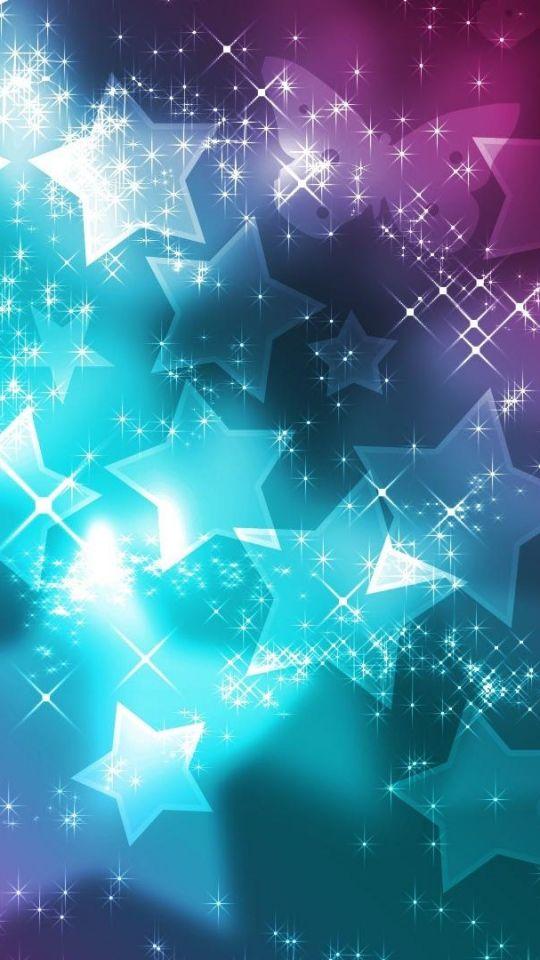Falling Stars Live Wallpaper Glitter Sparkle Glow Iphone Wallpaper Stars Color