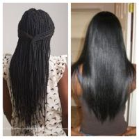 Healthy No Knots Box Braids On Short Hair, No Breakage ...