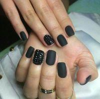 25+ best ideas about Matte black nails on Pinterest ...