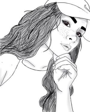 outlines outline drawings sketches lips dope ariana
