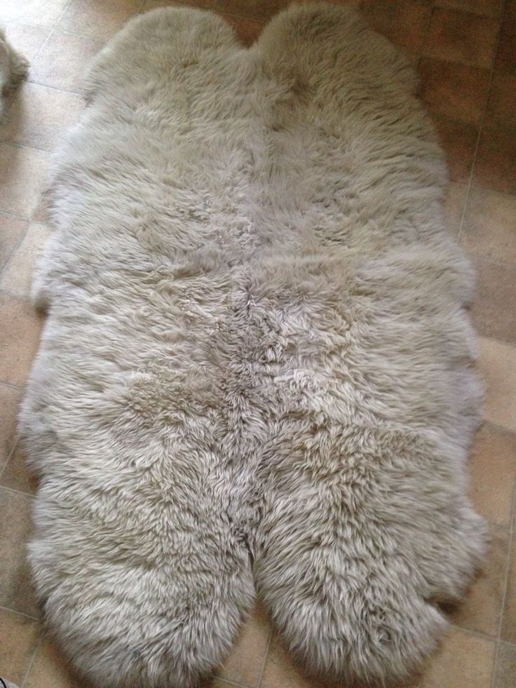 Ikea SKOLD genuine Sheepskin rug 160cm  For the Home