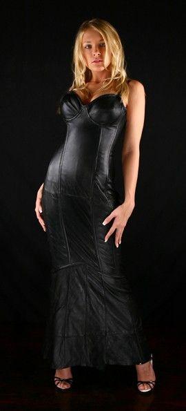 Custom Made Elegant Handmade Italian Leather Steel Boned