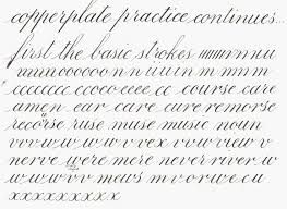 25+ best ideas about Copperplate calligraphy on Pinterest