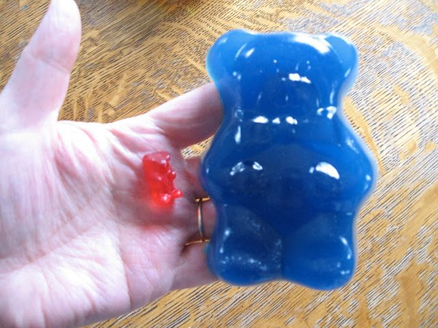 Homemade gummy bear recipe.