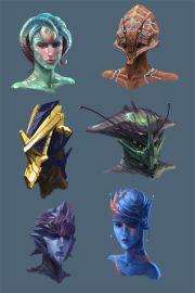 ideas alien concept