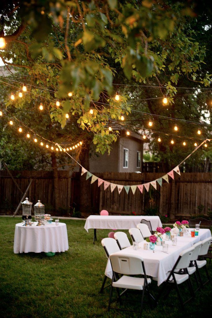 25 Best Ideas About Backyard Parties On Pinterest Outdoor
