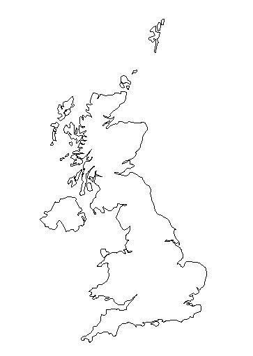 25+ best ideas about United kingdom map on Pinterest