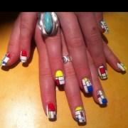 broadway boogie woogie nail art