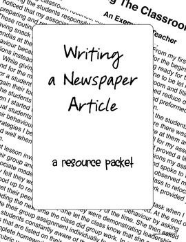 1000+ images about Creating a Newspaper For The Class Room