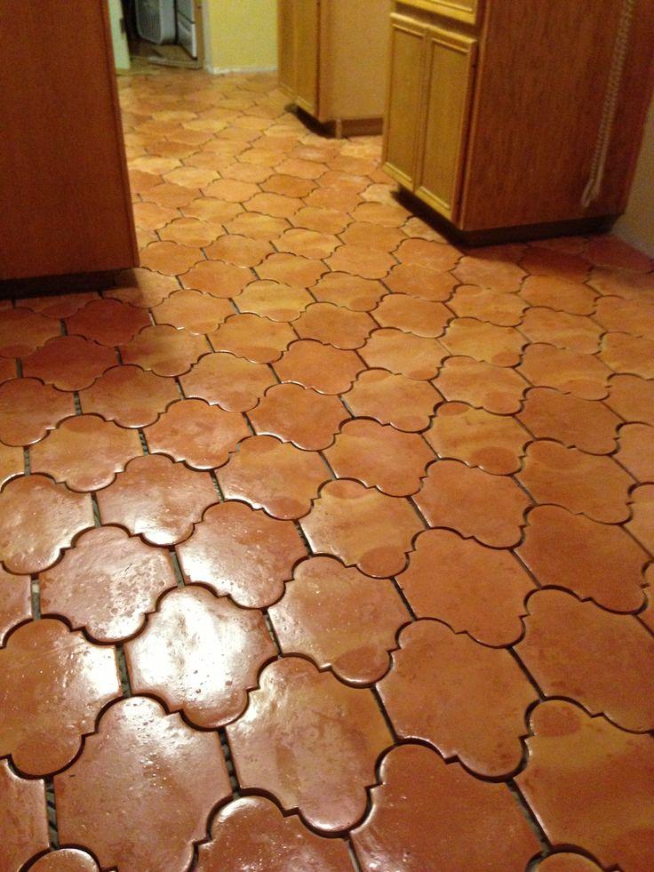 San Felipe Saltillo Tile No Grout Yet Kitchen