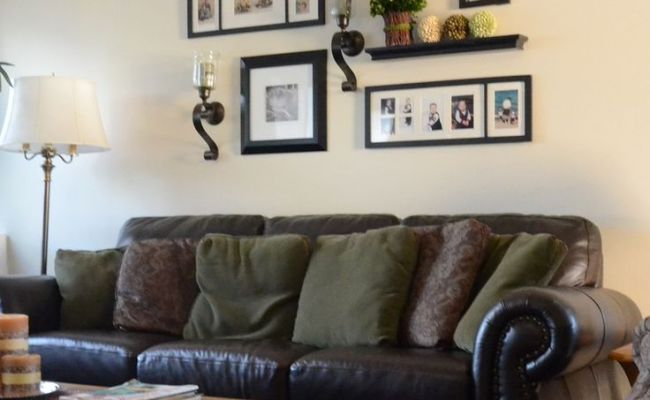17 Best Images About Above Couch On Pinterest Shelves
