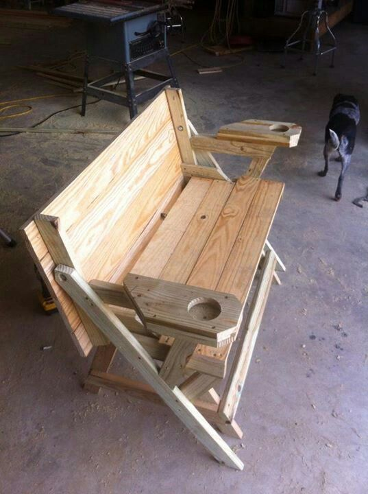 Fold up picnic table complete with cup holders  Ellis