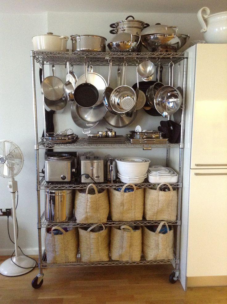 My Bakers Rack  Kitchen Storage  Home  organization