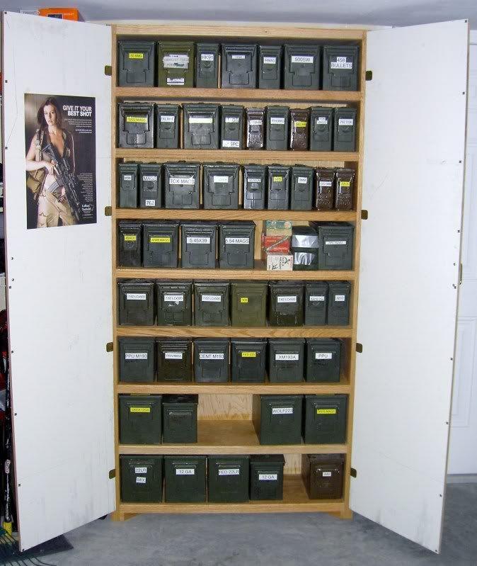 ammo storage  Ammo Storage Shelf Ideas  AR15Com Archive  tactical toys  storage  Pinterest