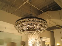 Robert Abbey Large Bling chandelier Candelabra $1k