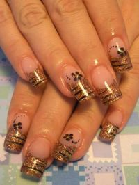 17 Best ideas about Tiger Stripe Nails on Pinterest ...