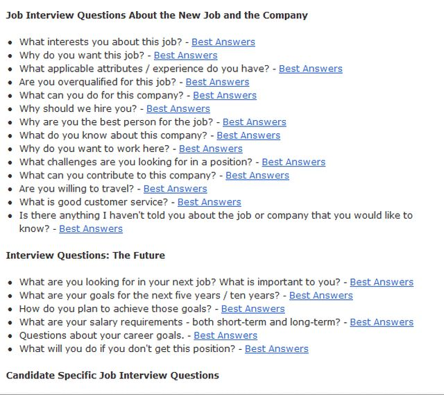 17 Best Ideas About Practice Interview Questions On