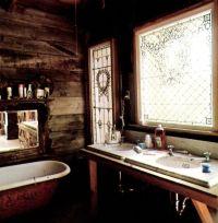 Rustic Boho Decor Bathroom. | Bohemian Decor Bathrooms ...