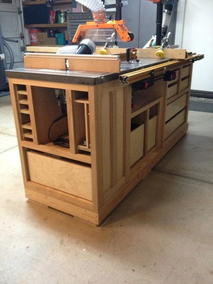 Woodworking Plans Table Saw Cabinet  WoodWorking Projects