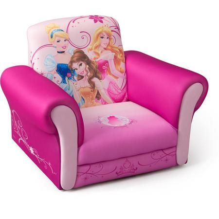 Disney Princess Deluxe Upholstered Chair  Walmartcom