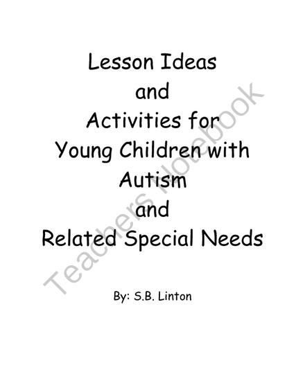 Apps, Lesson Ideas and Activities for Young Children with