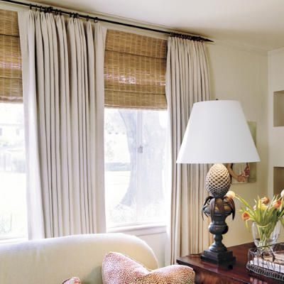 25 best ideas about Large window curtains on Pinterest