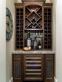 17 Best images about Built in Wine Bar on Pinterest ...