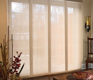 25+ Best Ideas about Sliding Door Coverings on Pinterest