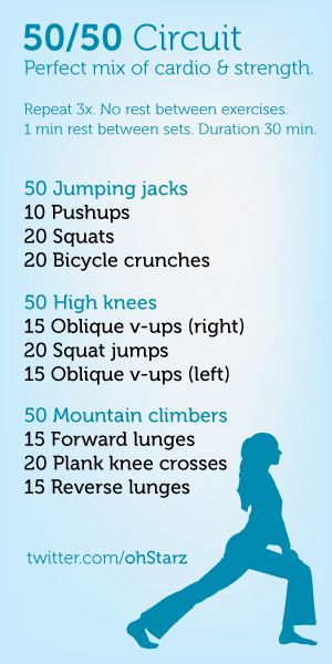 great workout!