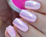mermaid nails - indigo