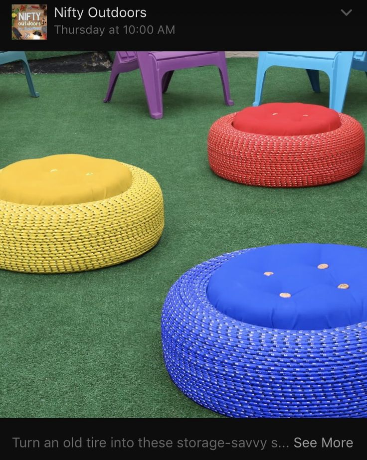 25+ best ideas about Tire chairs on Pinterest