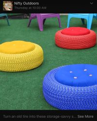 25+ best ideas about Tire chairs on Pinterest | Tyre ...