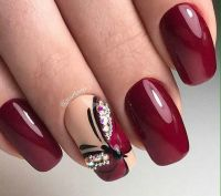 25+ best ideas about Maroon Nails on Pinterest | Matte ...