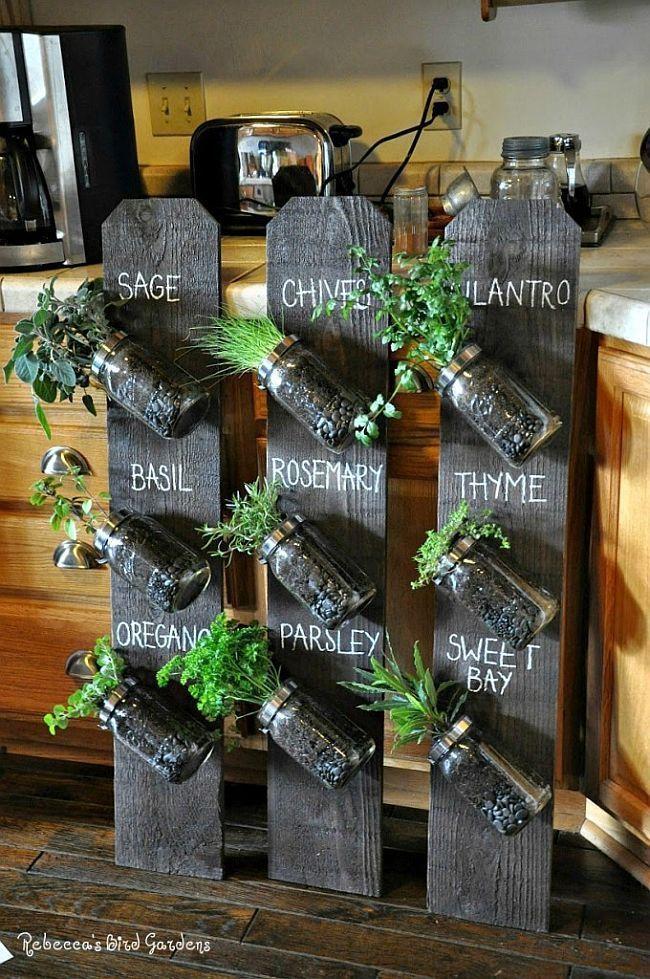 The Perfect Indoor Gardening Ideas Gardens Jars And Herbs Garden
