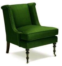 Lee Joffa emerald green chair | Gorgeous Green | Pinterest ...