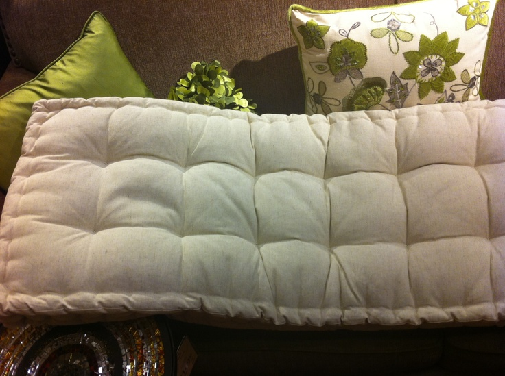 tufted bench cushion  Pier 1  For the Home  Pinterest