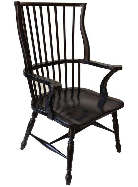 Windsor Chair  Windsor Design and Black
