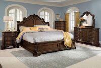American Signature Furniture - Monticello Pecan Bedroom ...