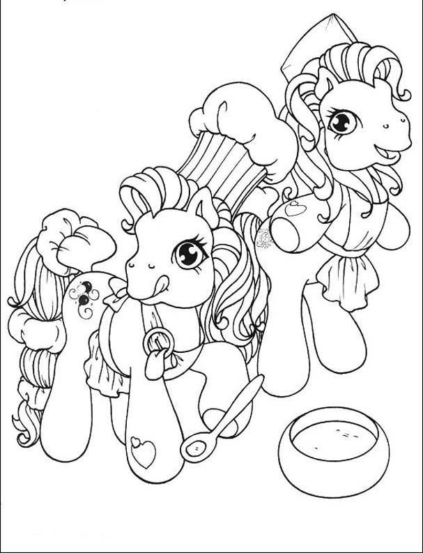 49 best images about Coloring page Little pony on