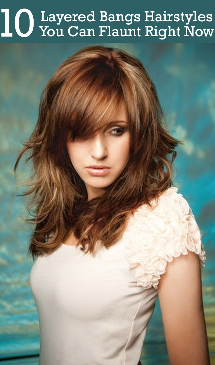 25 best ideas about Layered Bangs Hairstyles on Pinterest  Bangs long hair Bangs hairstyle