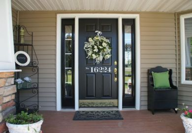 Front Door Color Ideas For Beige House