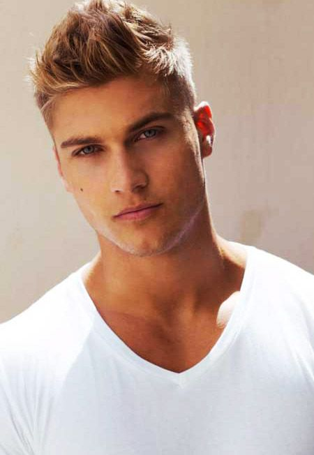 Cool Blonde Thin Hair Mens Hairstyles Tips & Ideas Coupe <3