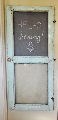 25+ best ideas about Chalkboard doors on Pinterest ...