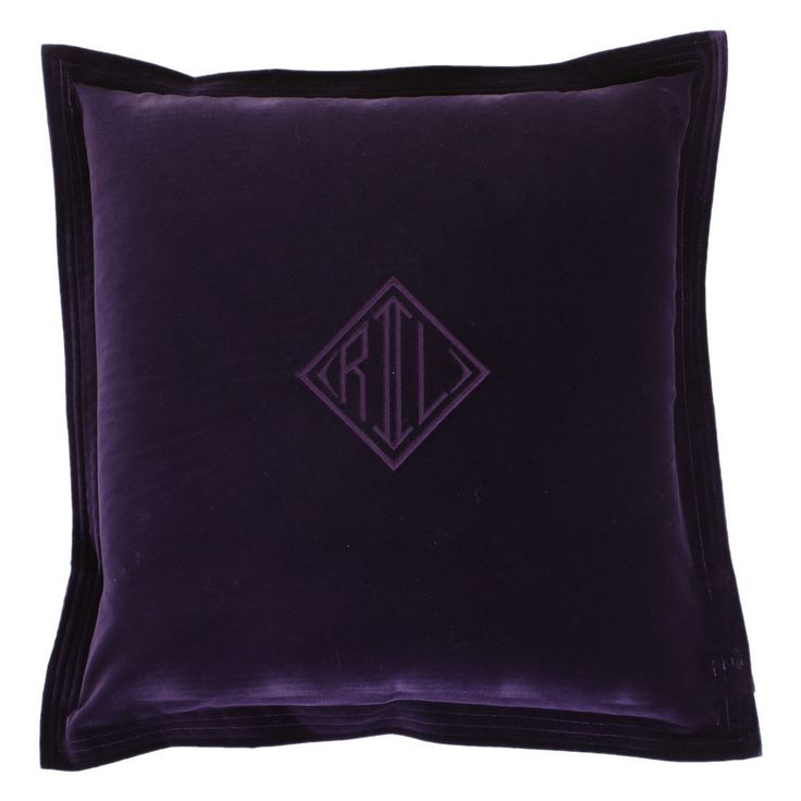 14 best images about Purple Velvet Throw Pillows on