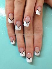 colored french tips ideas