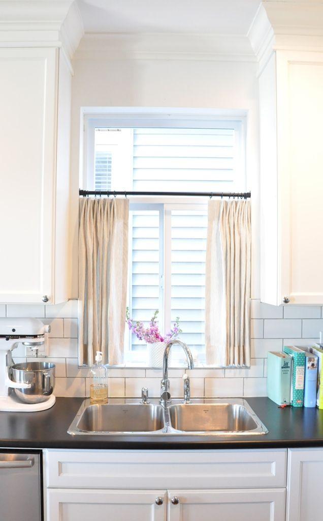 25 Best Ideas About Kitchen Window Curtains On Pinterest