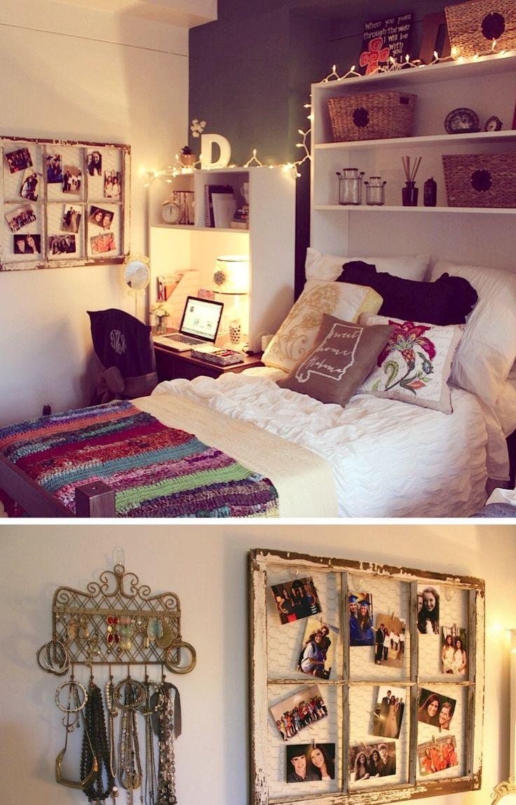 317 best images about Dorm Decor on Pinterest  College dorm rooms Bedspread and Decor
