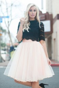 Allure Tulle Skirt - Blush, tulle skirt outfit idea, Space ...