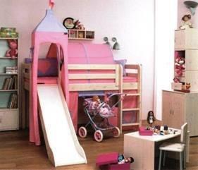 Flexa Loft Bed With Slide For 500 Dream Home Pinterest